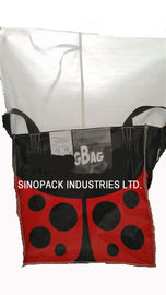 1 Tonne Agricultural seeds FIBC big bags BOPP film coated outside